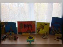 Работы выполнили дети подготовительной группы №1